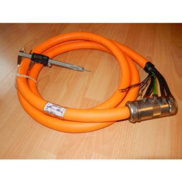 INDRAMAT Guam Rexroth Servo Kabel mit starken Lagerspuren, ca 3,5m