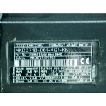 Indramat FalklandIslands Rexroth MKD071B-061-KG1-KN mit Kabel 10m