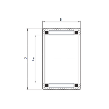 HK283824 ISO Cylindrical Roller Bearings