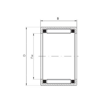 HK425218 ISO Cylindrical Roller Bearings