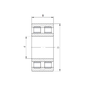 NNU6026 ISO Cylindrical Roller Bearings