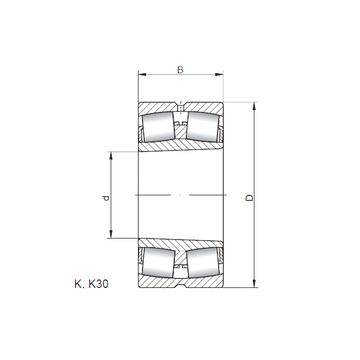 230/800 KW33 ISO Spherical Roller Bearings