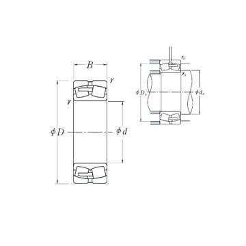 23968CAE4 NSK Spherical Roller Bearings
