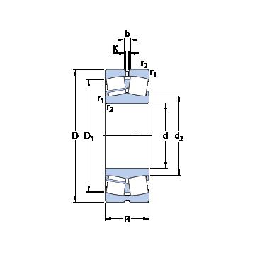 22322 E SKF Spherical Roller Bearings