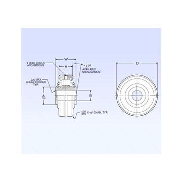 ASR4-1 NMB Spherical Roller Bearings