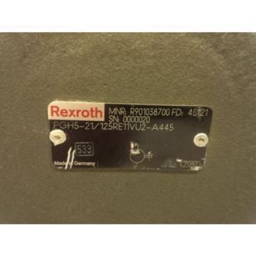 Rexroth Greece hydraulic gear pumps PGH5 size 125