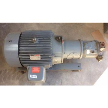 Rexroth Kazakhstan Hydraulic pumps MDL AA10VS071 w Reliance 40 HP Motor DUTY MASTER 3 PH