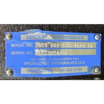 DENISON Haiti T6ED 062 038 1L03 B1 T6ED0620381L03B1 HYDRAULIC PUMP