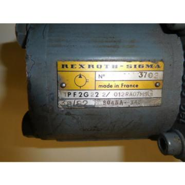 Rexroth Greece PV6V30-30/25RE08VC63A1/5 Double Vane/Gear pumps 9 amp; 5 GPM