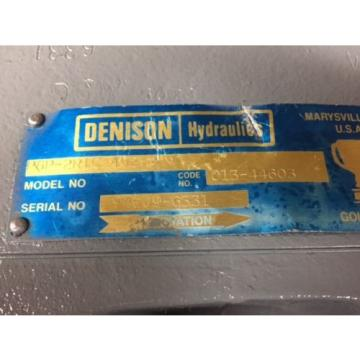 P6P-2R1C-402-A Liberia DENISON AXIAL PISTON PUMP