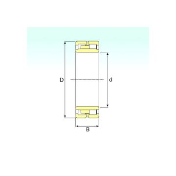 NNU 4926 K/SPW33 ISB Cylindrical Roller Bearings