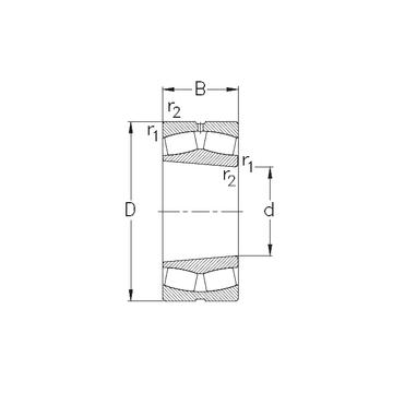 23236-K-MB-W33 NKE Spherical Roller Bearings #1 small image