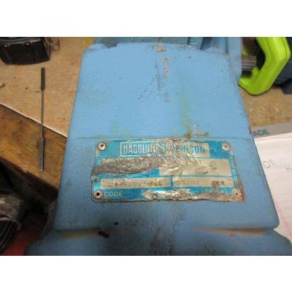 Hagglunds Denison Hydraulic Vane Motor #1 image