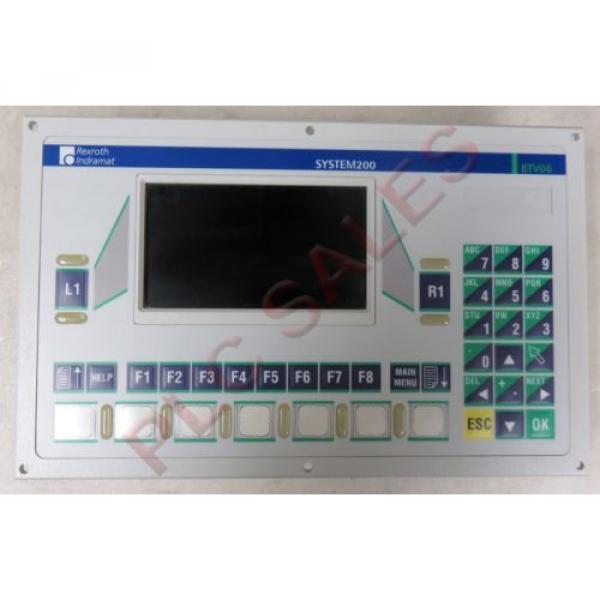 Indramat Ireland Rexroth BTV061HN-RS-FW  |  System 200 Operator Interface #1 image