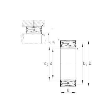 24128-E1-2VSR-H40 FAG Spherical Roller Bearings #1 image